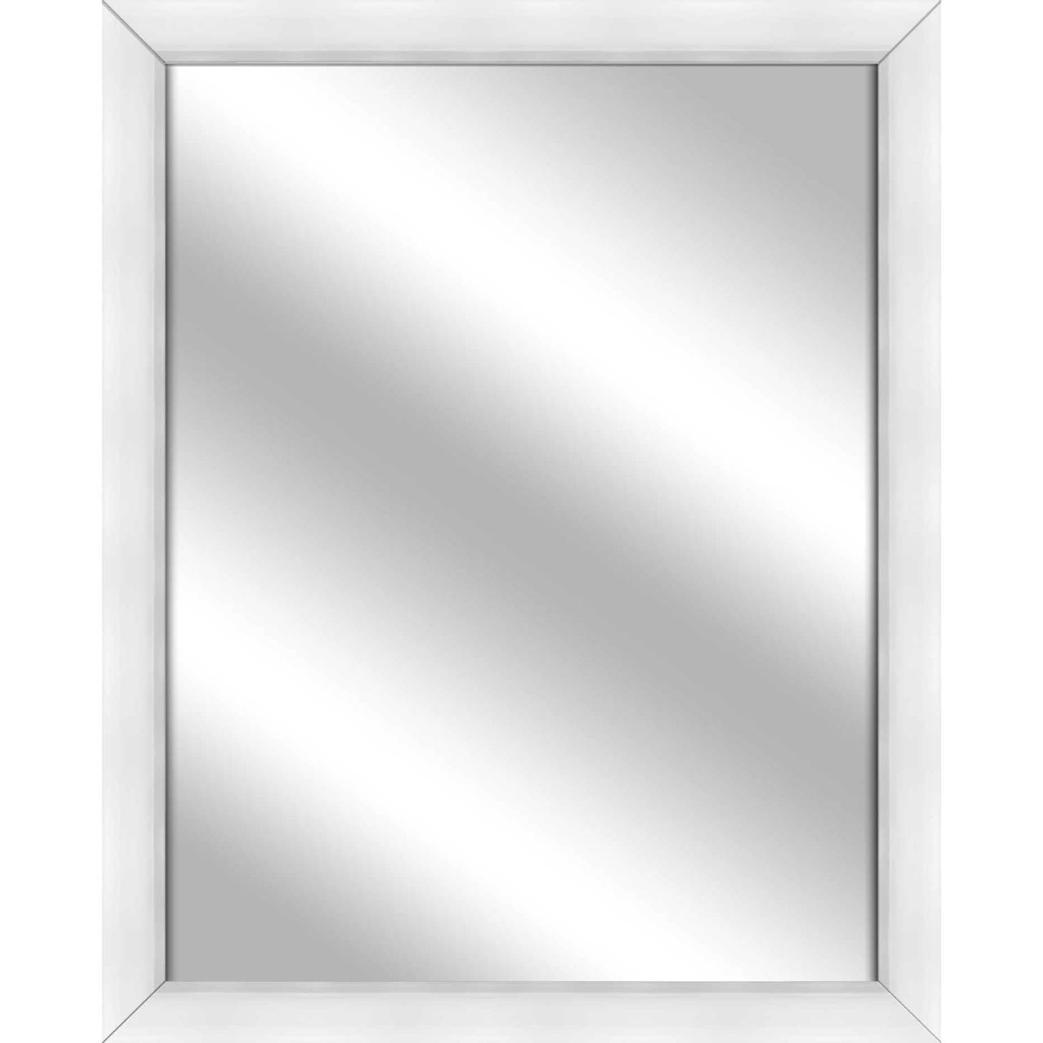 Vanity Mirror, White, 24.75x30.75 by PTM Images