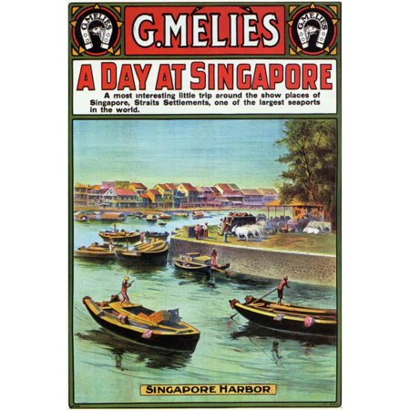 A Day at Singapore POSTER Movie (27x40) (Halloween Jobs Singapore)