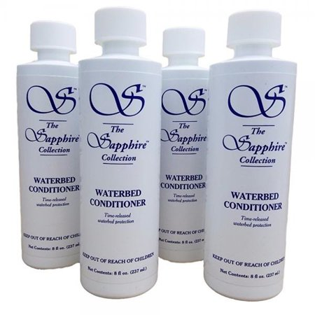 (Sapphire Collection Blue Magic Waterbed Conditioner, 8oz. - 4 Bottles)