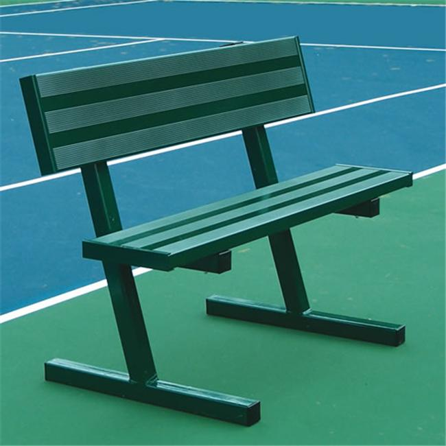 Jaypro Sports PB40PC 4 ft.  Court Side Tennis Bench