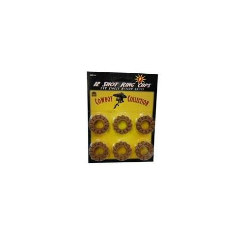 Costumes For All Occasions Bf63 Cap Ring 12 Shots