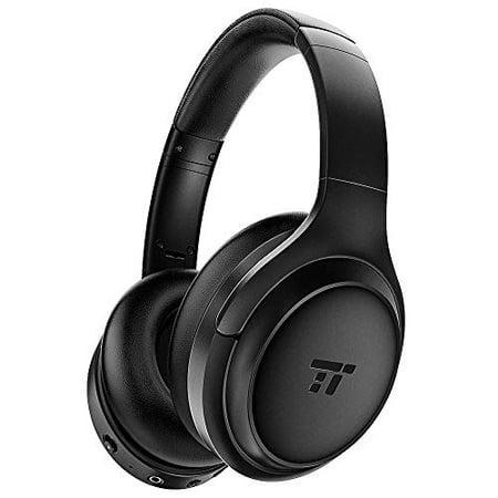 TaoTronics Active Noise Cancelling Headphones [2020 Upgrade] Bluetooth Headphones Over Ear Headphones Hi-Fi Sound Deep Bass,