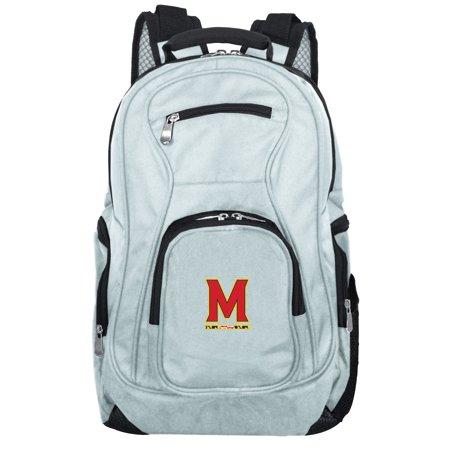 NCAA Maryland Terrapins Gray Premium Laptop