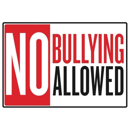 No Bullying Allowed Classroom Poster - - No Bullying Posters