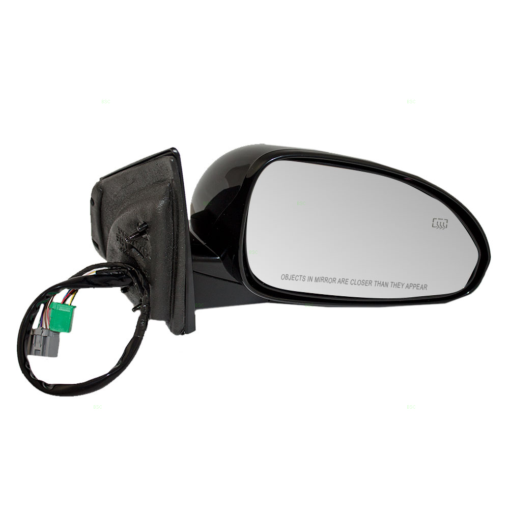 Passengers Power Side View Mirror Heated Signal Memory Power Folding Replacement for Buick SUV 25867059
