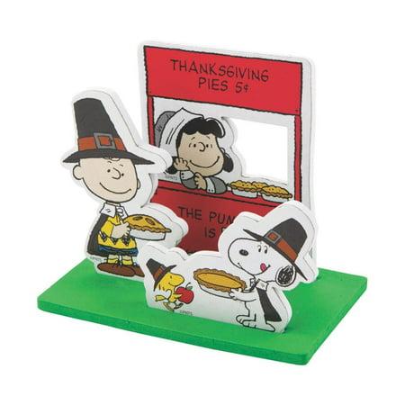 Peanuts® 3D Thanksgiving Scene Craft Kit (Thanksgiving Scenes)