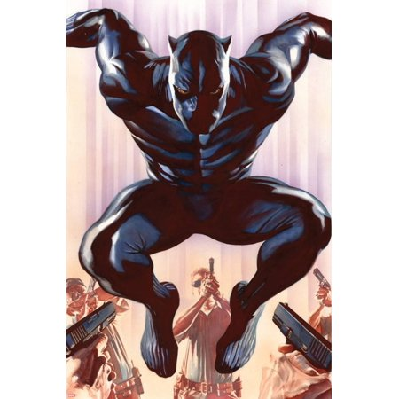 Black Panther No. 1 Cover Art Print Wall Art By Alex Ross