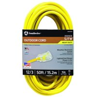 Coleman Cable 2588SW0002 50' Yellow Extension Cord