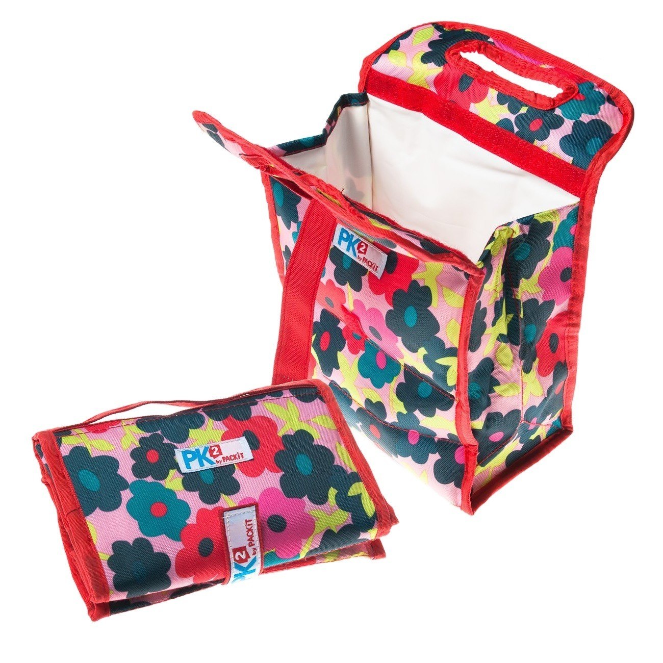 PackIt Freezable & Reusable Lunch Bag with Velcro Closure