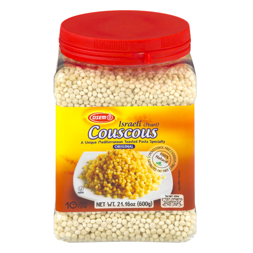 Osem Israeli Couscous Canister, 21. 16 Oz, Pack Of 4