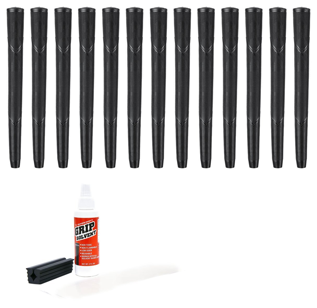 Arthritic 13 Piece Golf Grip Kit (with Tape, Solvent, Vis...