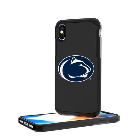 e832608e356a5f PSU Penn State Nittany Lions Insignia Rugged Case for iPhone X - Walmart.com