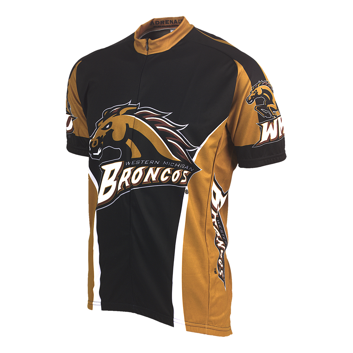 Adrenaline Promotions Western Michigan University Broncos Cycling Jersey