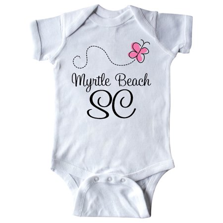 Inktastic Myrtle Beach South Carolina Infant Creeper Cities City State Towns Hws
