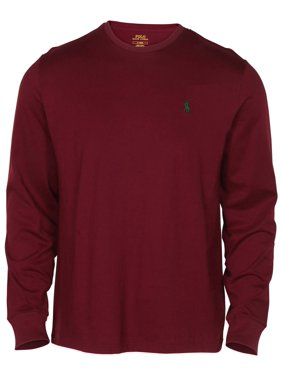 52d92510 Product Image Polo Ralph Lauren Men's Long Sleeve Classic Fit Crew Neck  Pony Tee Shirt