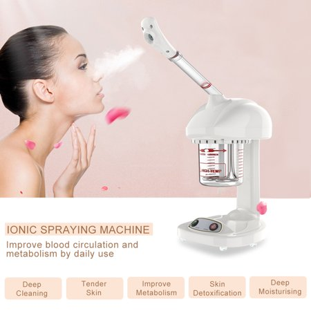 Sonew Advanced Ionic Spraying Machine Facial Steamer Salon Spa Ozone Steaming Deep Cleansing Anti-Aging Whiten Tender Skin Skin Care Machine for Home, Spa, Beauty Salon Use ()