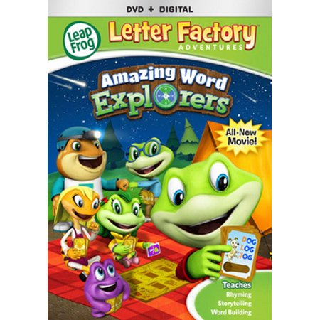 Leapfrog Letter Factory Adventures: Amazing Word Explorers (DVD)