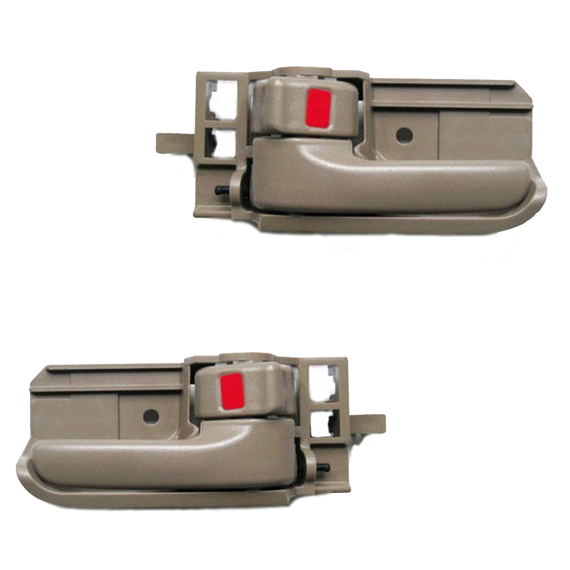 For 03-08 Toyota Corolla Tan Left & Right Interior Inner Door Handle 2PCS 03 04 05 06 07 08 DH07