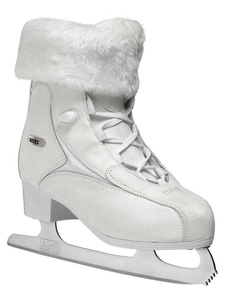 Roces Women's Fur Ice Skate Superior Italian Style 450540 00010 450618 00001 by Roces