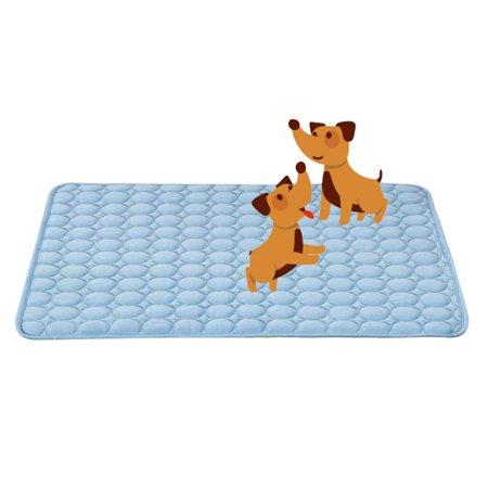 Pet Cooling Mat Dogs Cats Comfortable Multi-functional Cushion Pad Bed (Best Dog Cooling Pad)