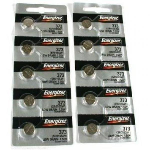 10 373 Energizer Watch Batteries SR916SW Battery Cell