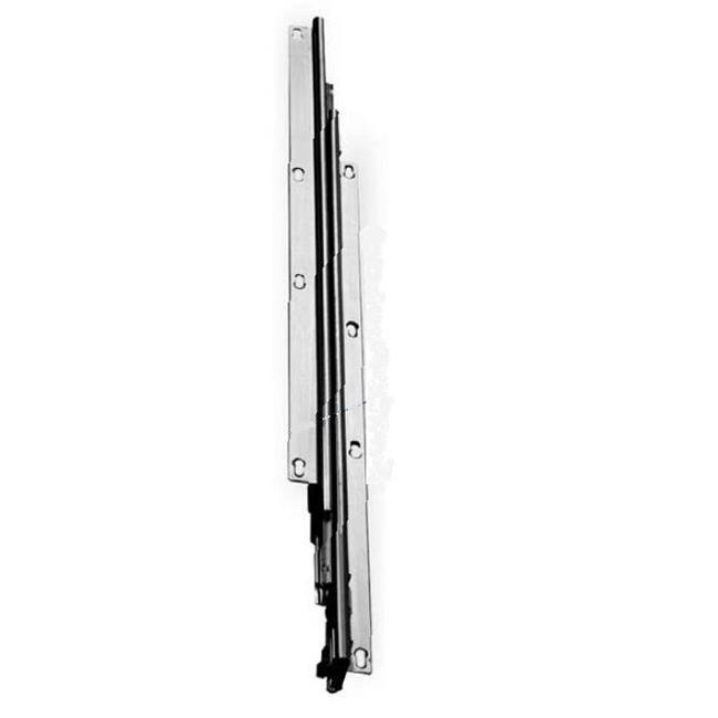 Knape & Vogt Kv8000 P14 14 inch Over-Travel Undermount Pantry Slide - Anochrome