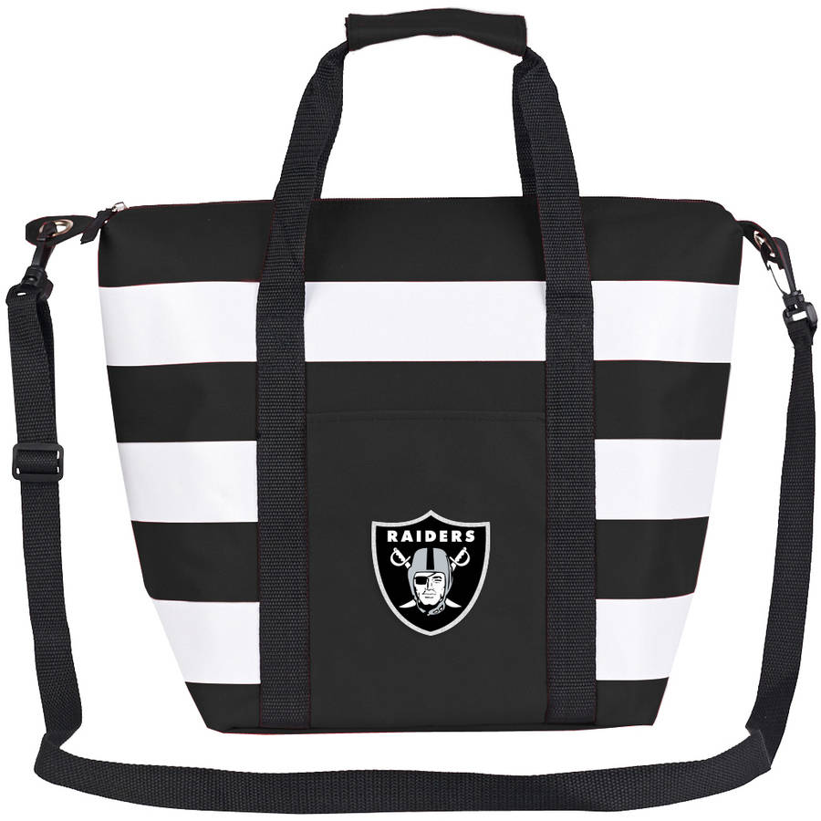 "NFL Oakland Raiders ""Freeze"" Insulated Cooler Tote"