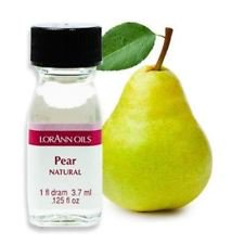 Lorann Oils Pear 1 Dram Super Strength Flavor Extract Candy Baking Includes 1 Dram Dropper And Recipe (Pear Flavored Vodka)
