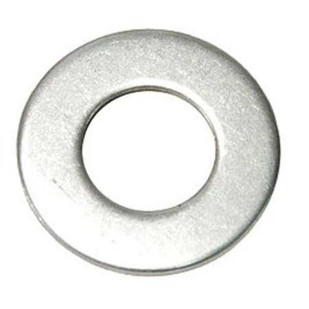 "GRAINGER APPROVED 1"" x 2"" OD Plain Finish 18-8 Stainless Steel Flat Washers, 10 pk., Z0623-188"