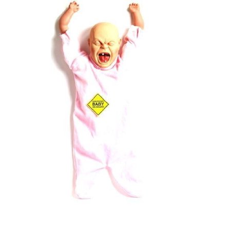Annoying Cry Crying Hanging Baby Doll on Board Scary Funny Gag Joke Car Window - Jokes And Gags Toys