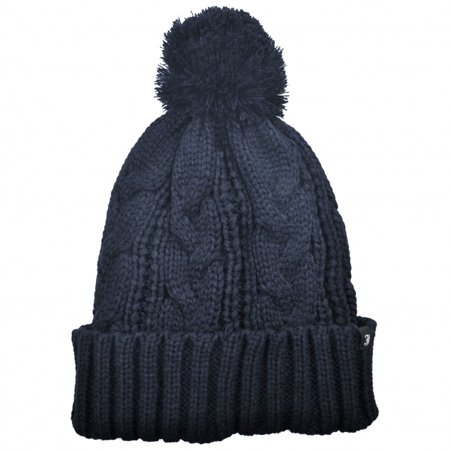 Jaxon Hats - Brooklyn Pom Knit Beanie Hat - ONE SIZE FITS MOST - Navy Blue  - Walmart.com 2880366aeb9
