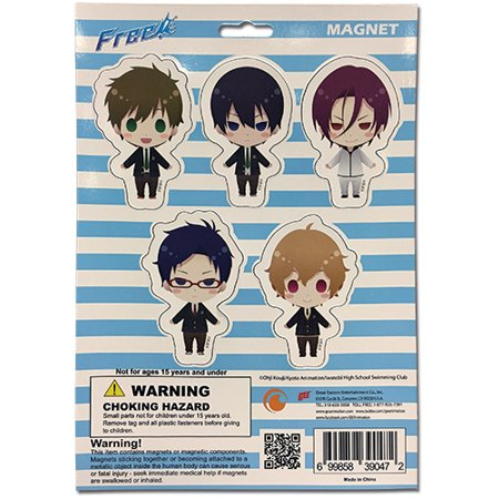 Magnet - Free! - Chibi SD Collection Games Toys Anime Licensed ge39047 (Chibi Halloween Anime)