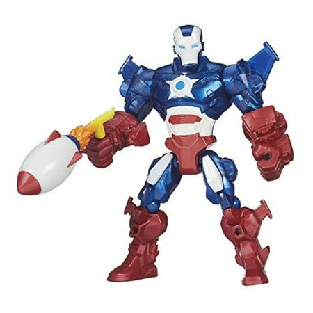 Marvel Super Hero Mashers Iron Patriot Figure (Marvel Super Hero Mashers Electronic Iron Man Figure)