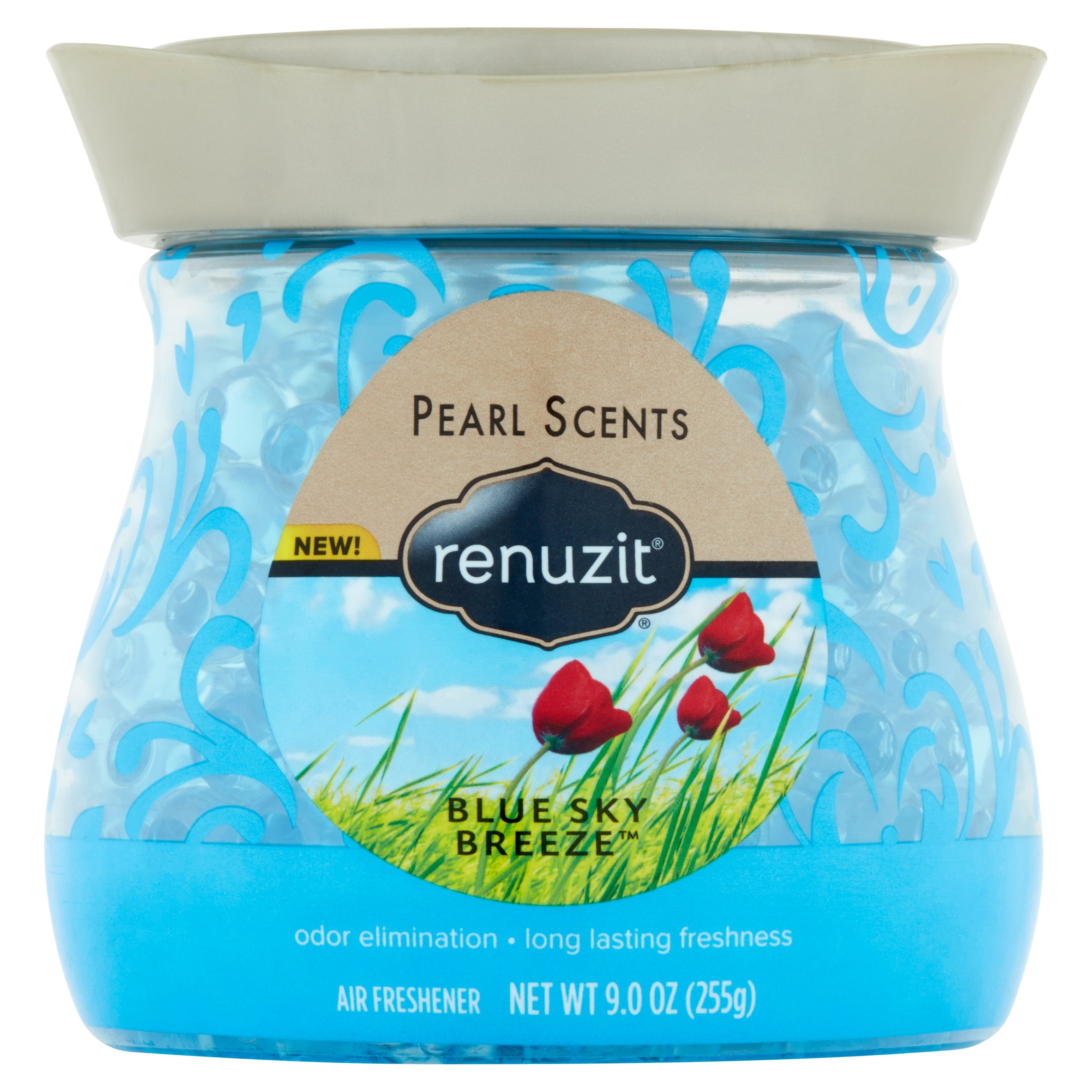 Renuzit Pearl Scent Blue Sky Breeze Air Freshener 9.0oz