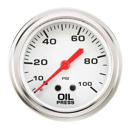 Mechanical Oil Pressure Gauge, 2-5/8 Inch (Mechanical Blower Pressure Gauge)