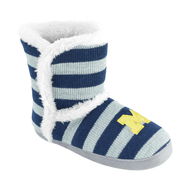 NCAA Women's Michigan Stripe Boot