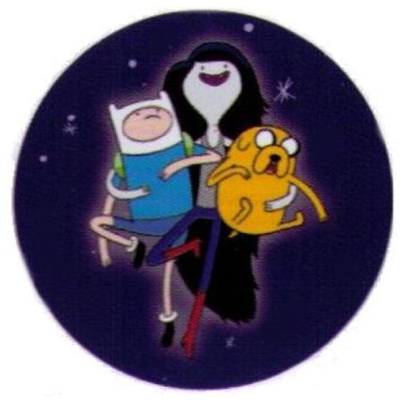 Adventure Time Marceline with Finn & Jake 1.25 Inch - Finn E Jake Halloween