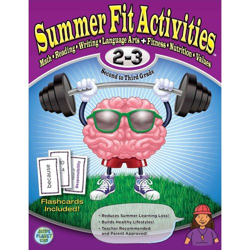 Image of Summer Fit Second to Third Grade: Math, Reading, Writing, Language Arts + Fitness, Nutrition and Values