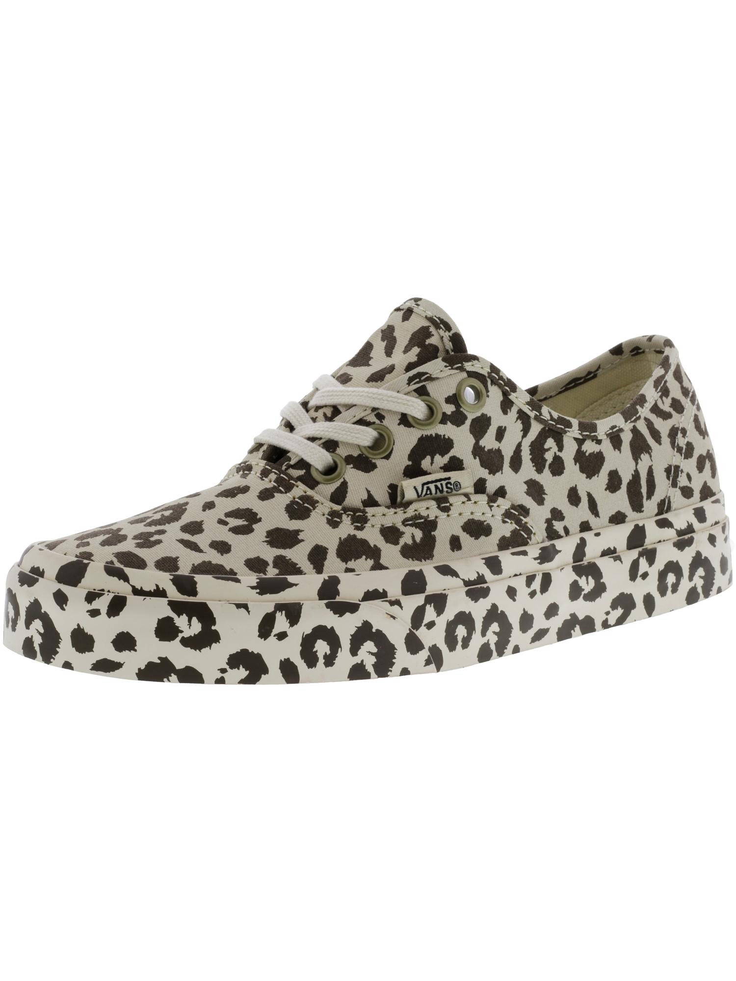 Vans Authentic Mono Print Leopard Ankle