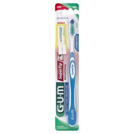 Gum Super Tip Toothbrush (GUM Super Tip Toothbrush Soft/Full 1 Each)