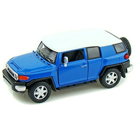 Take Along Diecast Metal (1/36 Scale Toyota FJ Cruiser SUV Diecast Metal Model Blue 5