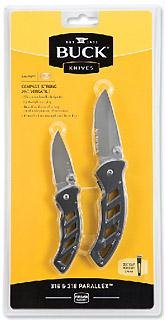 Buck Knives Combo 316/318 Parallex Multi-Colored
