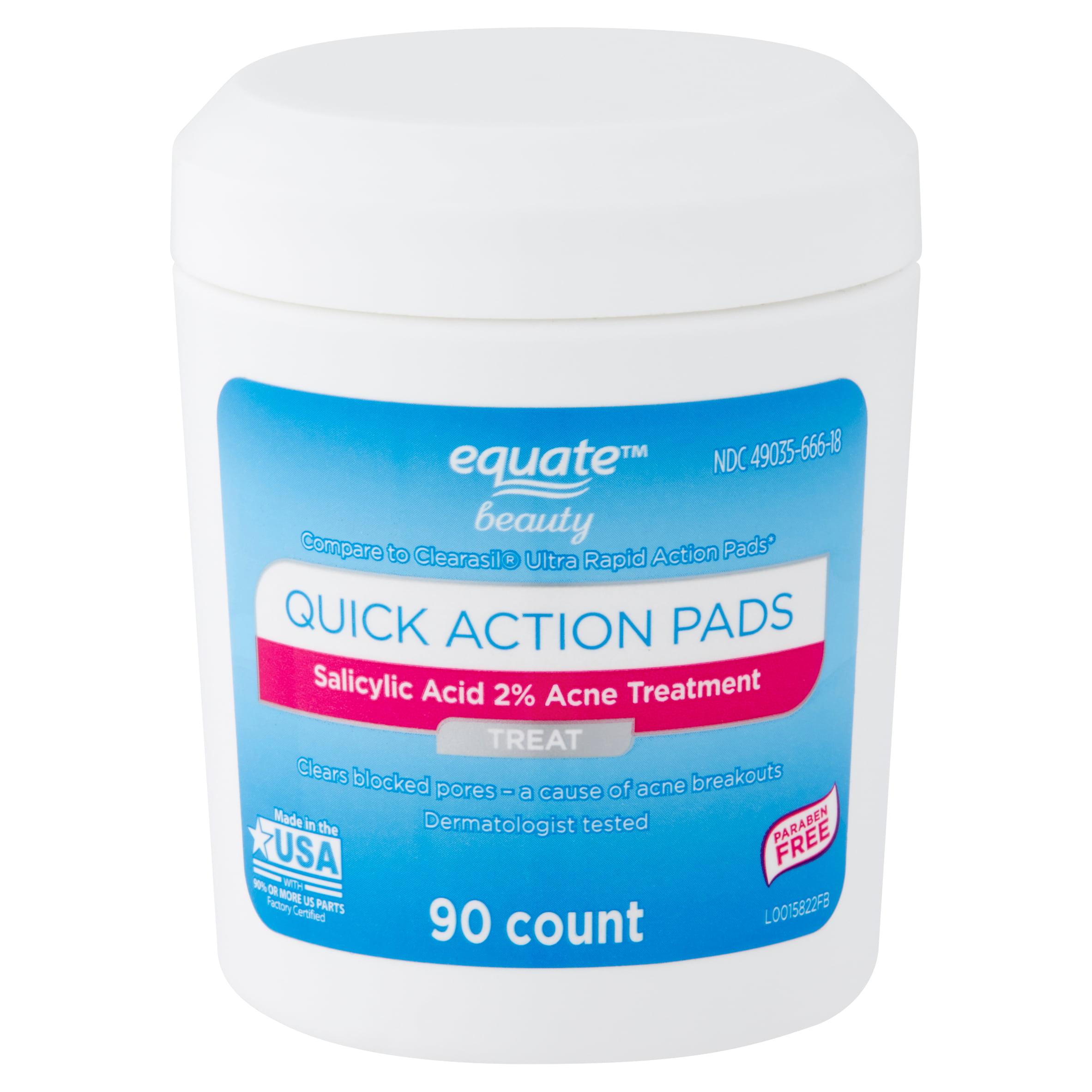 Equate Beauty Quick Action Pads 90 Count Walmart Com Walmart Com