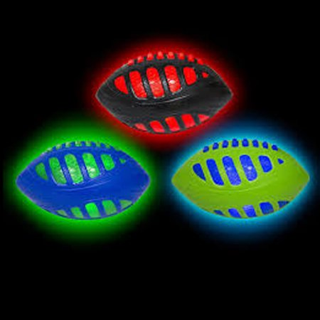 REACTORZ FOOTBALL - 9'' Inch Light Up Football *COLORS VARY*
