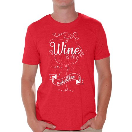 Awkward Styles Awkward Styles Wine Is My Valentine Shirt Valentine
