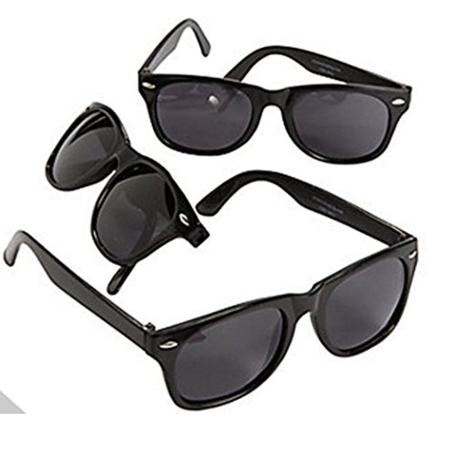Black Sunglasses, 24 Count, Party Favor, Photo Booth Prop - Halloween Party Booth Ideas