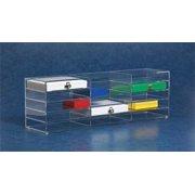HEATHROW SCIENTIFIC HS159890B STORAGE RACK F/MCRSCP SLIDE BOXES