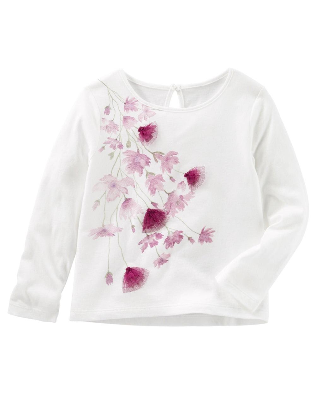 White OshKosh BGosh Baby Girls Satin Ruffle Bloomers 6 Months