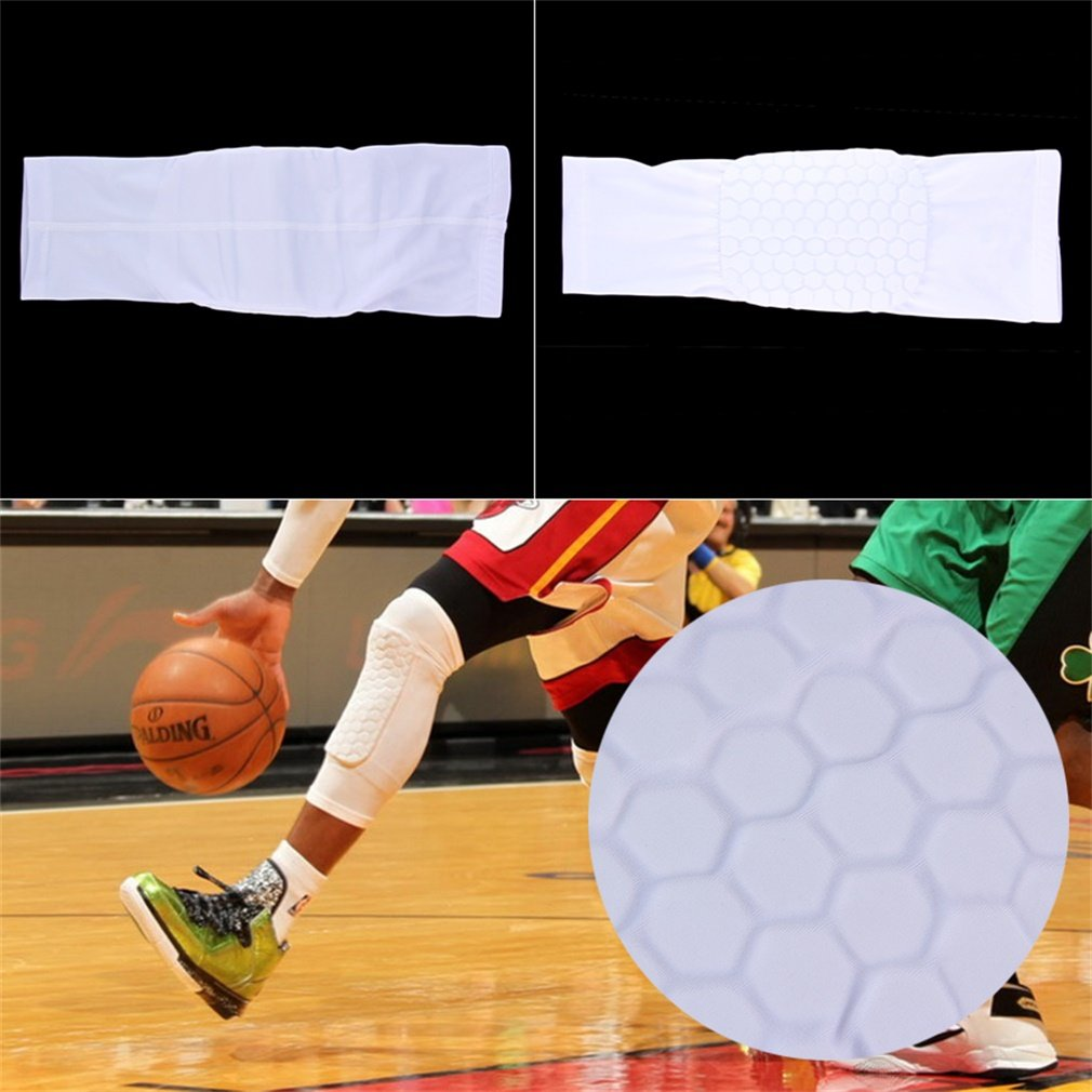 Kids Adult Pad Basketball Leg Knee Long Sleeve Protecting Gear Crashproof Knee Pads Calf Support Ski Snowboard Kneepad by