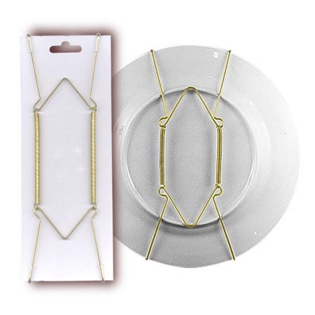 Plate Hanger For Collector Plates. Holds 10